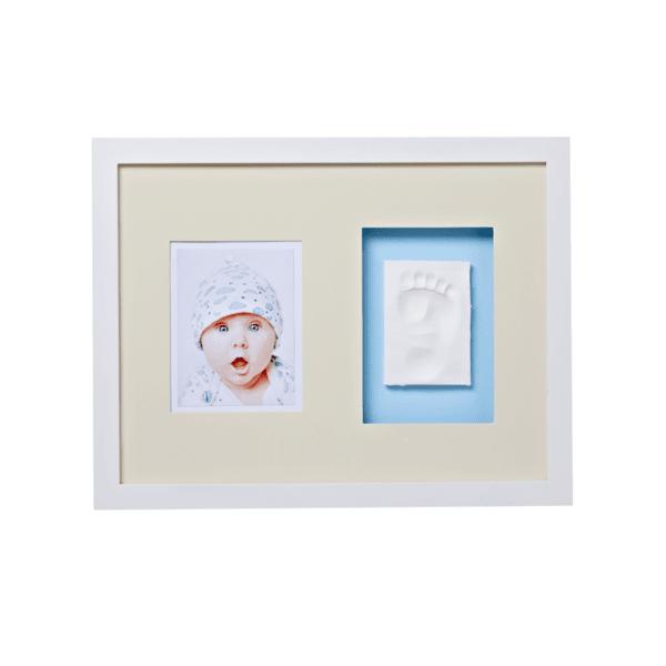 Baby Memory Print  Рамка за стена и отливка /бяла/ 010
